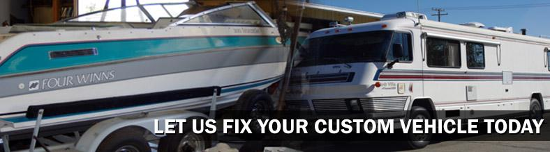 Motor Home & Off Road Vehicle Repairs in CA