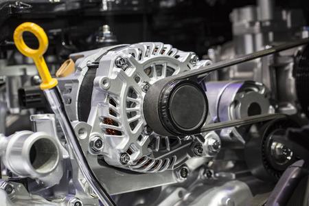Alternator in an Engine