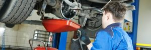 Car axle repairs