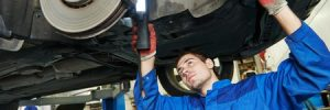 Installing New Brakes in Car